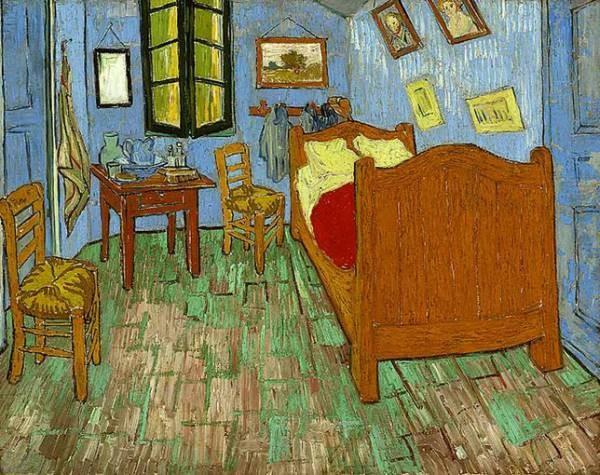 Van Gogh Vincent The Bedroom 1889